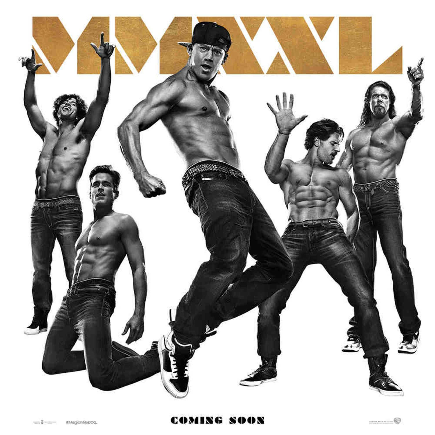 Magic Mike XXL Promo Poster